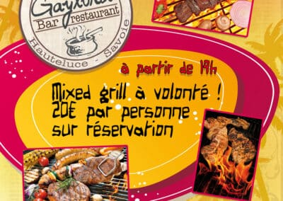 Affiche Mixed Grill