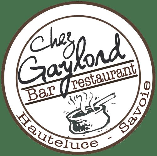 Logo du bar et restaurant ches Gaylord à Hauteluce dans le Beaufortain en Savoie