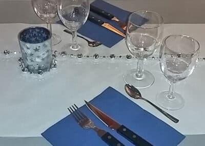 Un couvert pour deux dans votre restaurant de Hauteluce