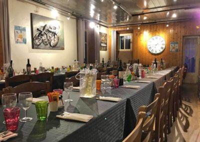 Salle de restaurant chez Gaylord
