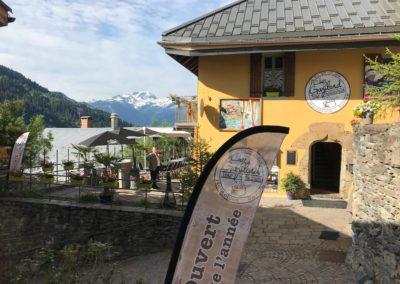 Facade du restaurant Chez Gaylord pour l'été 2018